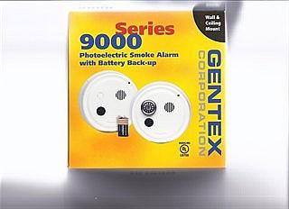 מודיעין גלאי עשן מוזן מתח בתקן 1220, GENTEX9000. לטופס 4. | גלאי עשן לטופס BA-02